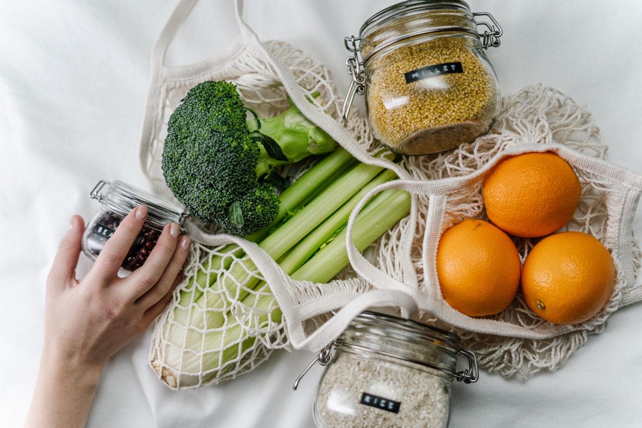 Bag of Fruit and Veg